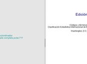 Clasificación Internacional Enfermedades (CIE-10)