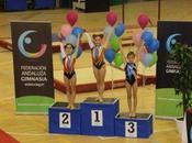 quinteñas Carla Rodríguez Sofía Morales, Campeonato Andalucía Gimnasia Artística Femenina