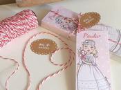 Recordatorios personalizados para primera comunión Paula