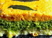 Pastel Tricolor Verduras