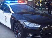 policía Ángeles quiere utilizar autos Tesla