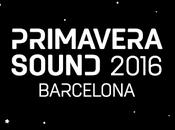 Horarios Primavera Sound 2016
