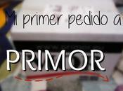 primer pedido Primor