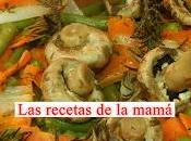 Receta fácil verduras romero