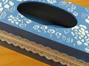 Caja para pañuelos.
