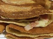 Crepes Beicon Queso