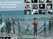 Poesía música damnificados terremoto Ecuador