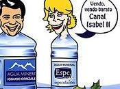agua Canal Isabel privatizará.