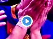 Luis Suárez fuera canchas.