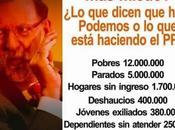 comprobada injusticia PSOE seguro liberticidio Podemos