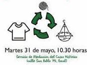 Taller reciclaje camisetas tejido maceteros