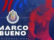 Chivas confirma Marco Bueno como refuerzo