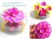 Ideas para hacer flores papel regalos