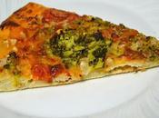 Pizza brocoli calabaza