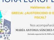 Europa Suma organiza tertulia sobre situación Grecia