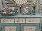 Muebles pintados pintura tiza