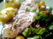 Emperador salsa limon cilantro alcaparras