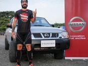 Valentí Sanjuan, Ironman español visitó Manabí Nissan Frontier