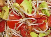 Ensalada Tomate Aguacate (Paltas)