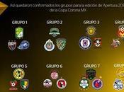 Estos Grupos para Copa Apertura 2016