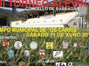 Torneo Alevín Concello Barbadás 2016, horarios.