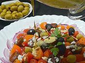 Ensalada cherrys vinagreta anchoas