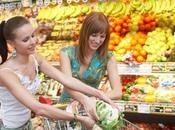 Comprar alimentos adecuados para comer sano.