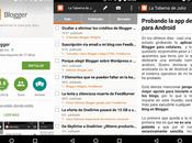 Probando oficial Blogger para Android