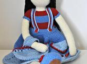 Muñeca ganchillo charlot
