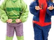 Sacos dormir para niños superhéroes