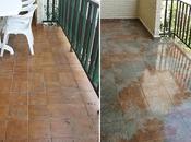Antes después nuestra terraza: Cómo embaldosar suelo exterior