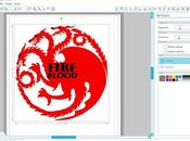 Emblema Casa Targaryen descargable.