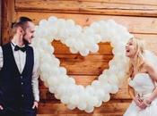 Decoración bodas. Globos, figuras globos, letras…¡y volar!