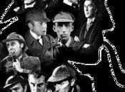 Rostros rastros Sherlock Holmes pantalla