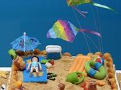¡verano! tarta playa charlota chocolates