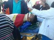 Familia Borjana preocupada accidente joven estudiante