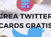 Cómo crear Twitter Cards