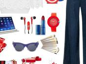 Red, White Blue fashion