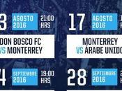 Partidos Rayados Monterrey Concachampions 2016-2017