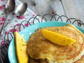 Tortitas coco mango sirope lima (sin gluten) Cooking chef