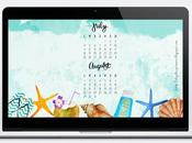 FREEBIES: Fondos escritorio julio-agosto 2016