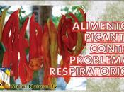 Alimentos picantes contra problemas respiratorios