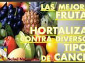 mejores frutas hortalizas contra diversos tipos cáncer