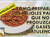 Cómo preparar frijoles para produzcan gases flatulencia