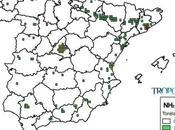 España: Mapa emisiones Amoníaco (Inventario EMEP 2013)
