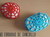 Forrar piedras ganchillo: tutorial patrón gratuito Crocheted stones free pattern