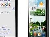 presenta próxima generación Smartphone diseño pantalla: Optimus Black