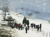 Esquia desierto pista indoor Dubai