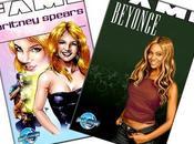 Beyonce Britney Spears ahora heroínas cómic Actualidad Noticias mundillo