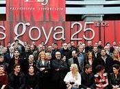 Gala nominados Goya convierte ejercicio autocrítica